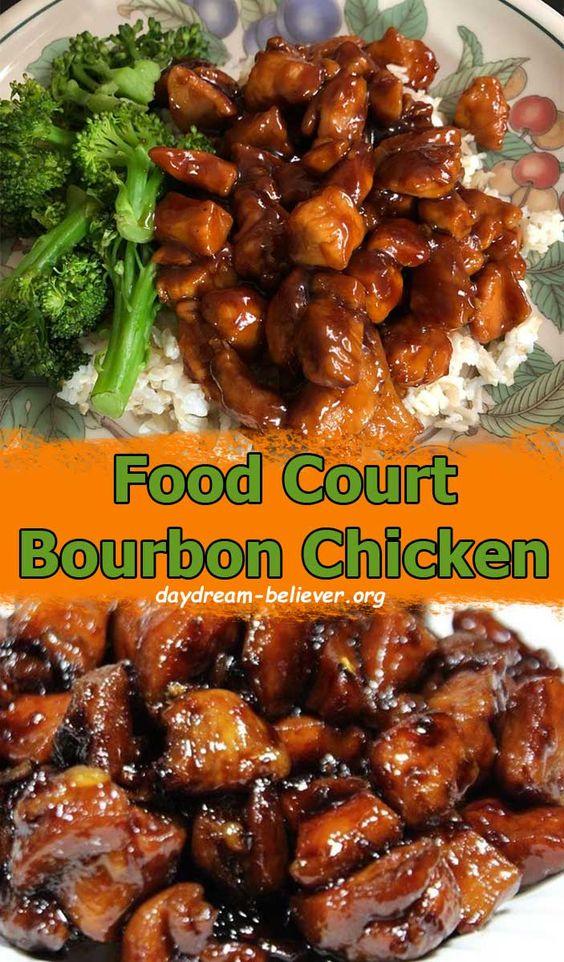 Food Court Bourbon Chicken