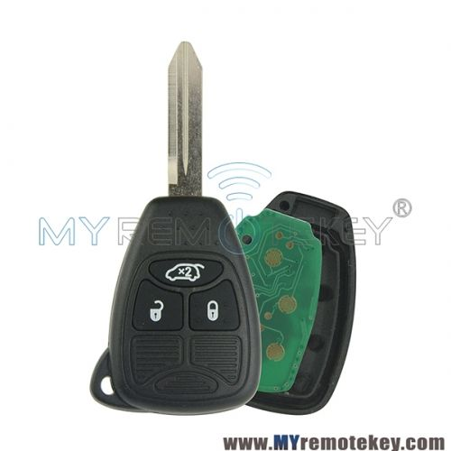 Remote Head Key 3 Button 434mhz For Dodge Jcuv Jeep Compass