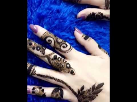 نقش حناء عرايس Youtube Hand Henna Henna Art Henna