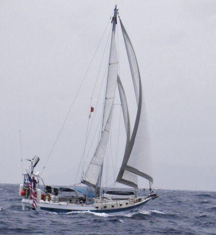 CSY 44 Sailboat