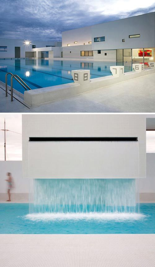 Beautiful swimming pool designs and jean nouvel on pinterest for Piscine les docks