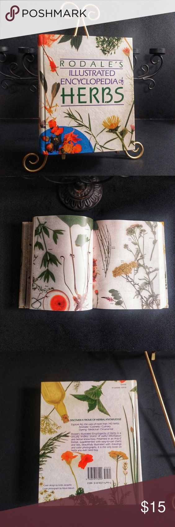 Rodale S Encyclopedia Of Herb S Vintage Book Rodale S Encyclopedia Of Herb S This Is A Vintage Colorful Book Vintage Book How To Introduce Yourself Vintage