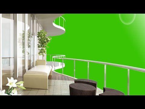 Building Interior Floor Green Screen Background Footage