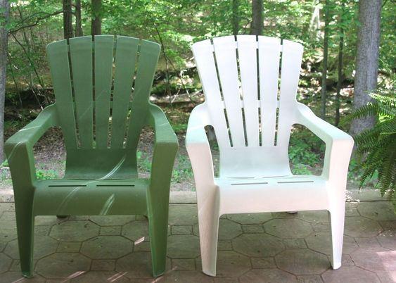 how to paint plastic outdoor furniture | mobili dipinti, mobili e ... - Mobili Da Giardino Idee Dipinte