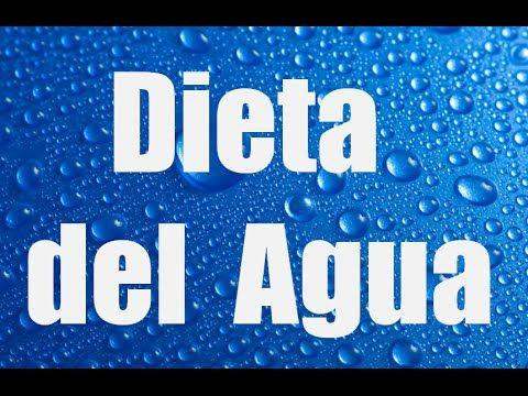 bajar de peso solo bebiendo agua