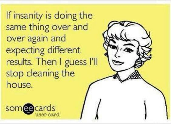 Housecleaning | Based on a #truestory