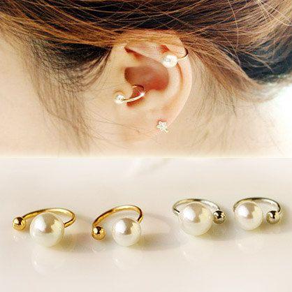 Boucles d'oreilles dior etsy