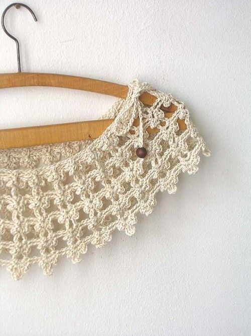 """Champagne Lace Collar"" by callmemimi"