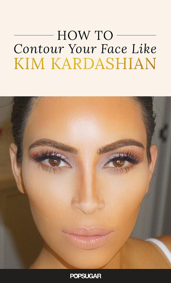 kim kardashian 39 s perfect nose is actually a contouring hack kim kardashian perfect nose and. Black Bedroom Furniture Sets. Home Design Ideas