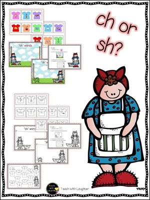 Using Mrs. Wishy-Washy to Teach Digraphs—with FREE Download!