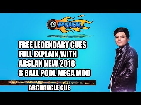 8 Ball Pool New Mod 2018 Free Legendary Cues With Images Pool