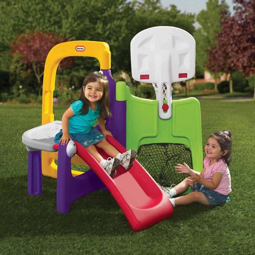little tikes hide and slide climber instructions