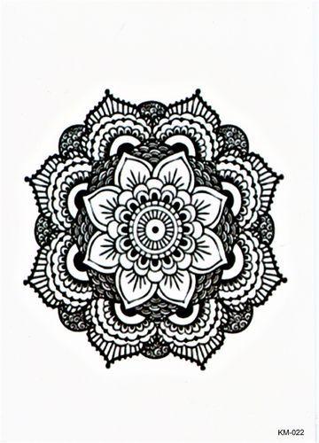Kreis Figur Blume Tribal Mandala Tattoo Marquesan Tattoos Tattoo Set