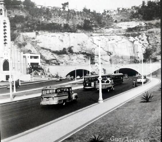 Botafogo Tunel novo , 1953.  https://www.facebook.com/Guarantiga?fref=ts