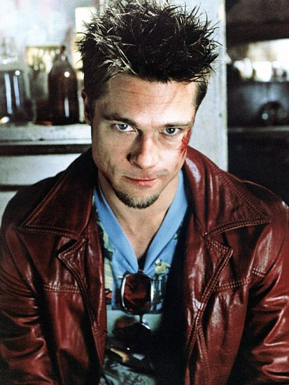 "Tyler Durden (Brad Pitt): ""It's only after we've lost everything that we're free to do anything."" -- from Fight Club (1999) directed by David Fincher"
