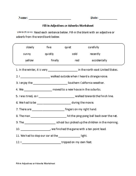 Adverbs Worksheets High School high school worksheets on adverbs – Grammar Worksheets High School