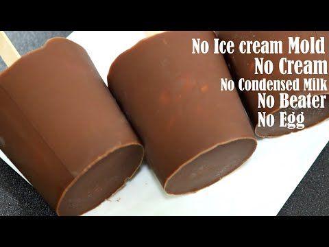 Butterscotch Choco Bar Ice Cream Recipe No Egg Cream Without Condensed Milk And Ice Cream Maker Yo In 2020 Ice Cream Recipes Butterscotch Ice Cream Icecream Bar