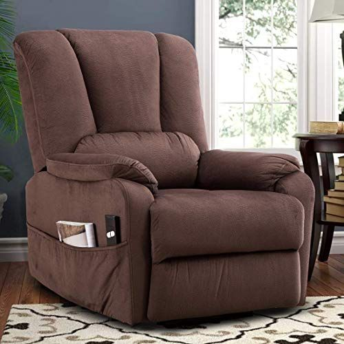 Best Seller Canmov Power Lift Recliner Chair Elderly Heavy Duty Safety Motion Reclining Mechanism Antiskid Fabric Sofa Living Room Chair Overstuffed Design Fabric Sofa Living Room Sofa Recliner Chair