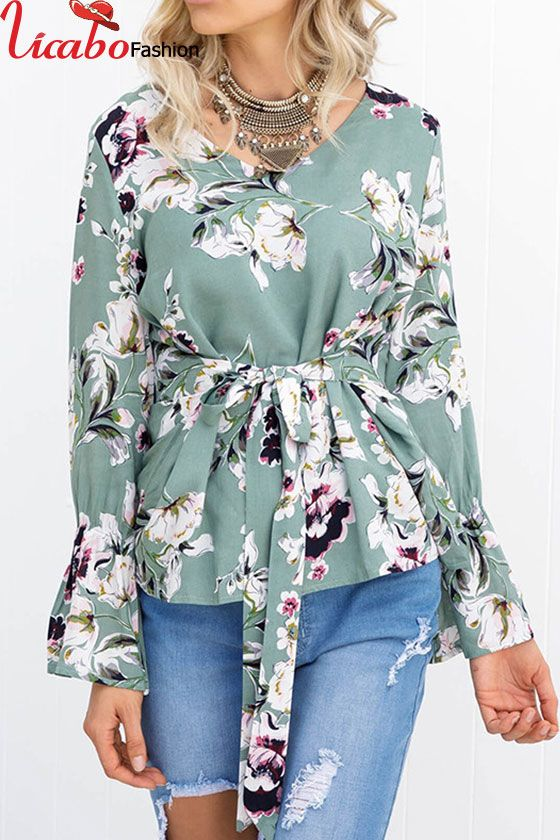 Womens Floral Print Puff Mesh Sleeve Tops Ladies Casual Loose Blouse T Shirt UK