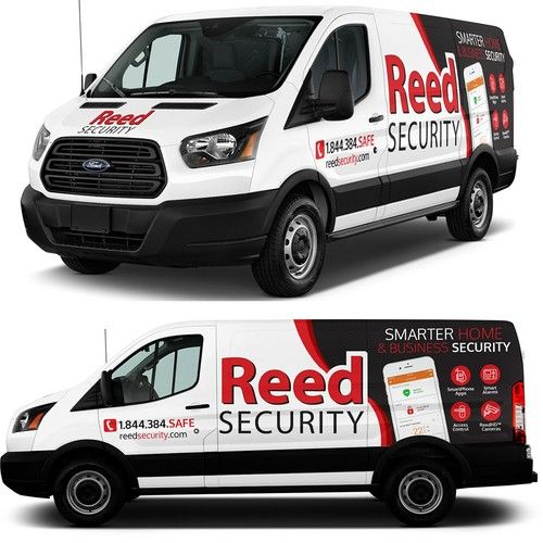 Reed Security Van Decals Or Wrap Car Truck Or Van Wrap Contest