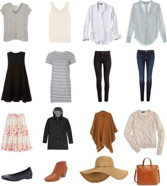Italy: Spring; Perfect packing list! … - cheap vintage clothing ...