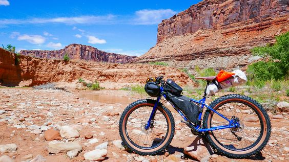 A novice goes bikepacking in Moab