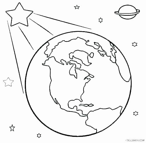Earth Coloring Page Coloring Pages For Kids Earth Coloring Pages Earth Drawings Planet Coloring Pages