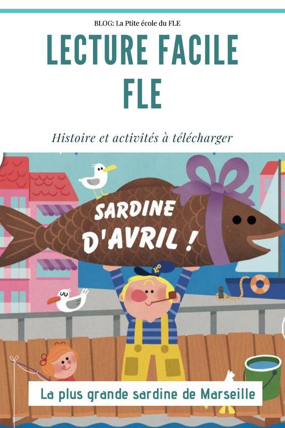 Lecture facile pour jeunes apprenants FLE. Lire en toute autonomie + jeux, activités, cartes images. A télécharger en PDF sur le blog La ptite école du FLE.