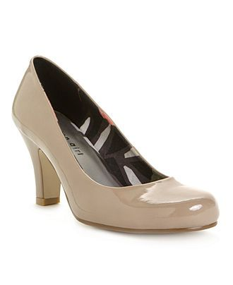 I really want nude pumps.