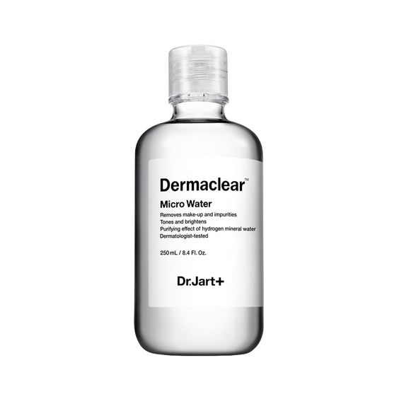 $32 | Dr. Jart + Dermaclear Micro Water: for oily/acne-prone skin, harshly formulated cleansers can leave skin stripped dry or weaken the skin barrier - this product is intended to be gentle on the skin barrier to prevent dehydration
