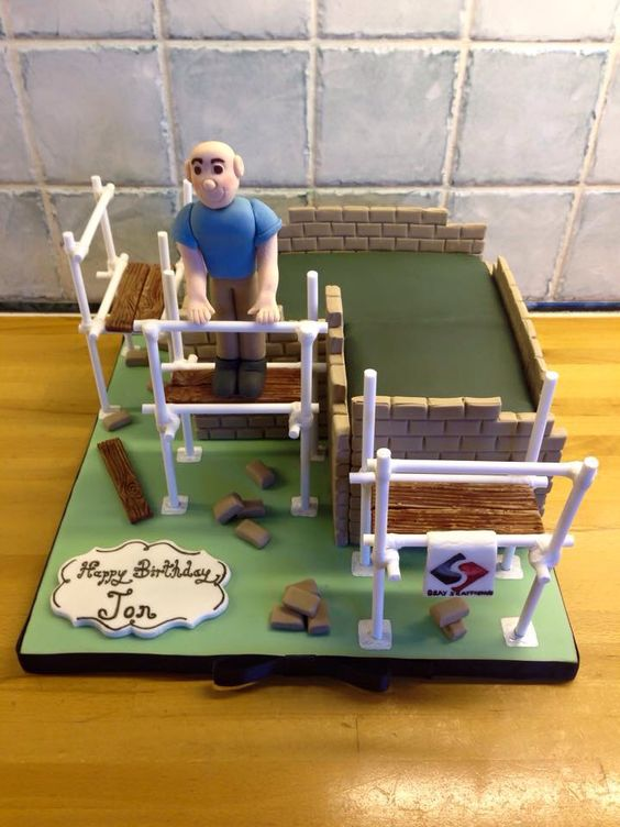 Scaffolder Birthday Cake