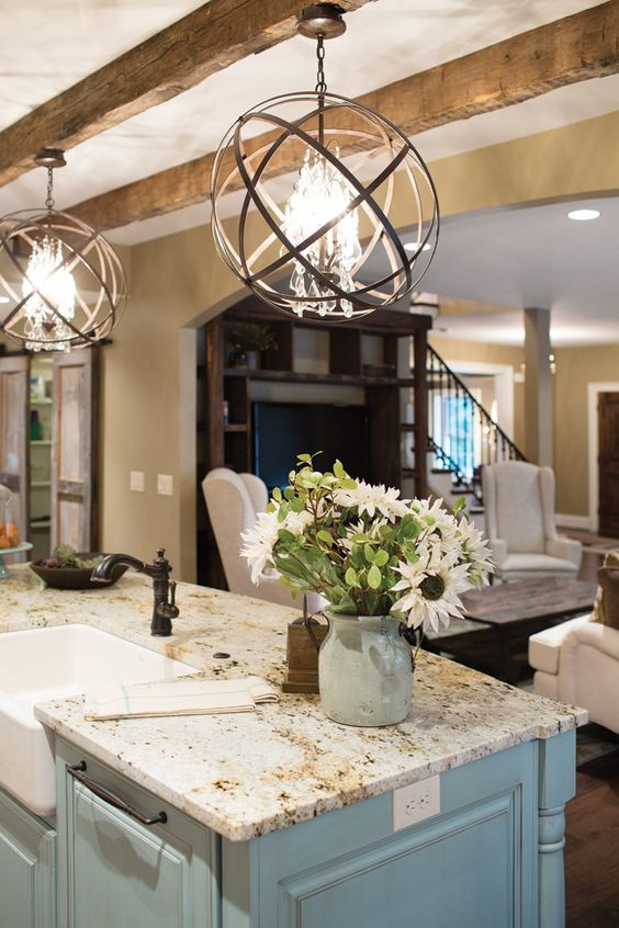 So perfect. Obsessed with those light fixtures.: