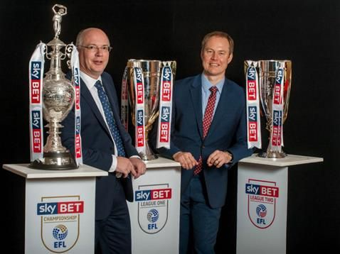 The Football League has signed a new three-season title - sponsorship agreement
