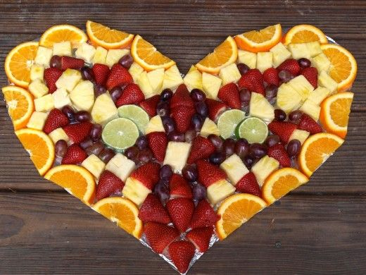 Fruchtiges Herz