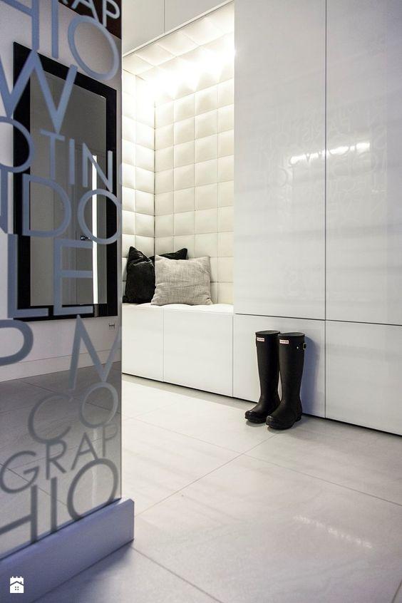 Mieszkanie w Obrze 2 - Hol / przedpokój, styl nowoczesny - zdjęcie od Żaneta Strażyńska: