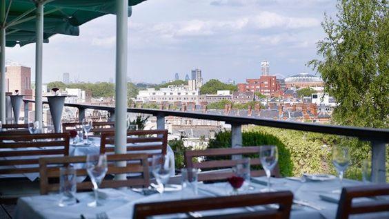 Babylon Restaurant On Kensington High Street In London What A Great View Best Restaurants London London Restaurants