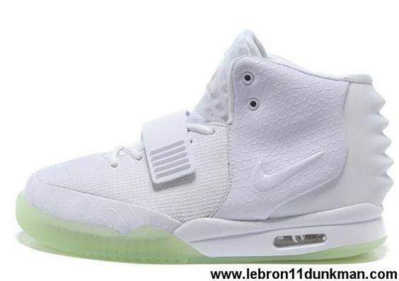 Buy Discount Nike Air Yeezy II Men Shoes White Sports Shoes Shop