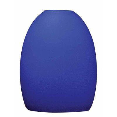 "Volume Lighting 6.75"" Glass Bell Pendant Shade Shade Color:"