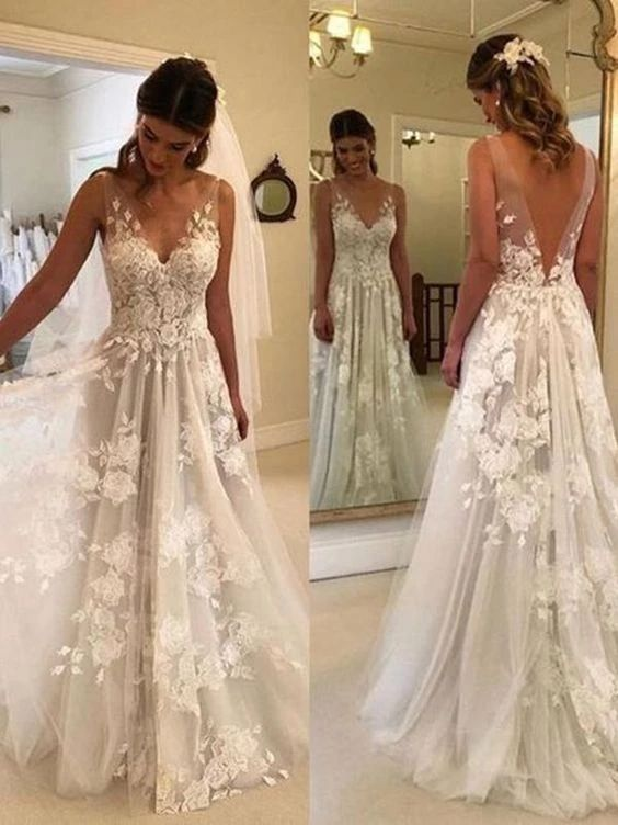 Pin On Dresses Lace Wedding Gowns