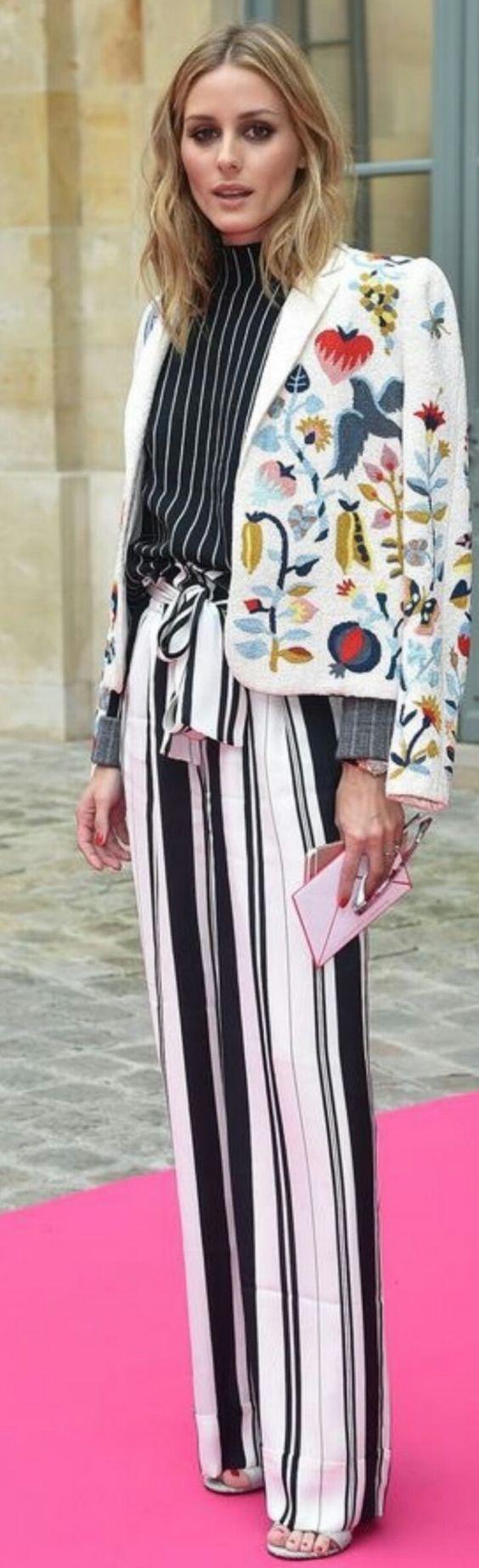 Olivia Palermo at Schiaparelli AW16 Couture