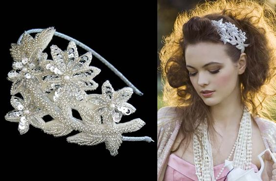 Flo & Percy Vintage Tiaras | Vintage Inspired ~ The Gatsby Collection