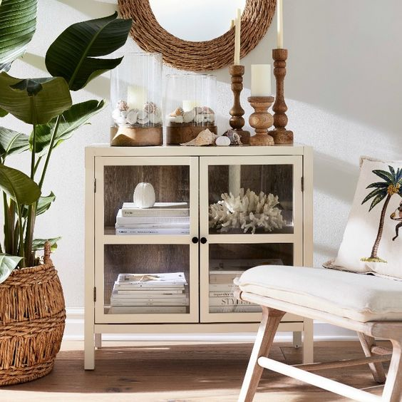 Tropical Casual Coastal Home Decor from Target - Sand and Sisal