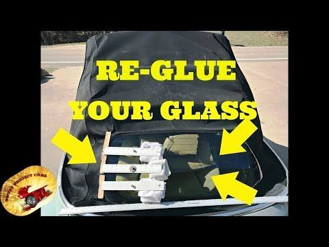 How To Repair A Convertible Top Glass Is Falling Out Vw Bug Audi Youtube Vw Bug Convertible Top Audi