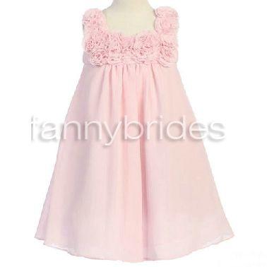 Lovely Ball Gown Square Sleeveless Tea-length Flowers and Ruffles Organza Flower Girl Dress - Fannybrides.com