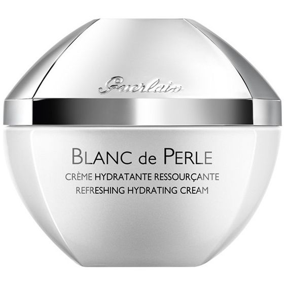 Guerlain 'Blanc de Perle' Refreshing Hydrating Cream (11650 RSD) ❤ liked on Polyvore featuring beauty products, skincare, face care, face moisturizers, no color, guerlain and face moisturizer