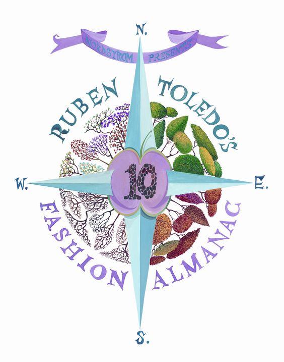 Ruben Toledo's Fashion Almanac 2010