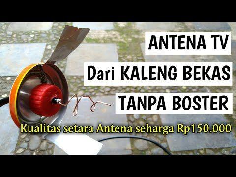 Membuat Antena Tv Dari Kaleng Bekas Tanpa Boster Youtube Tv Outdoor Power Equipment Youtube