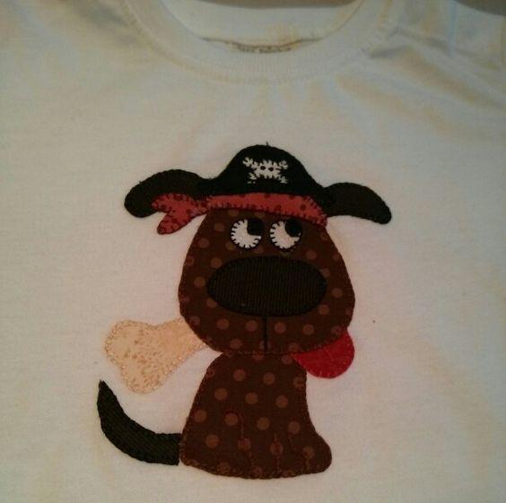 Camiseta perrito (creación de Paula)
