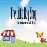 Corporate branding FACEBOOK PROFILE PIC for Sarah Lowe of The Little Dog Shop at www.littledogshop.co.uk designed and produced by KRC Productions