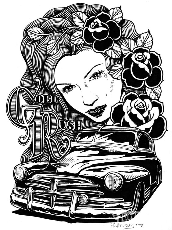 585a2ec4123e77f40a54d4b6a9b057b9 tattoo artist tim hendricks car and girl tattoos henna on lowrider magazine cover template